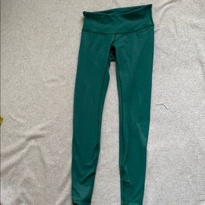 Teal Lululemon leggings